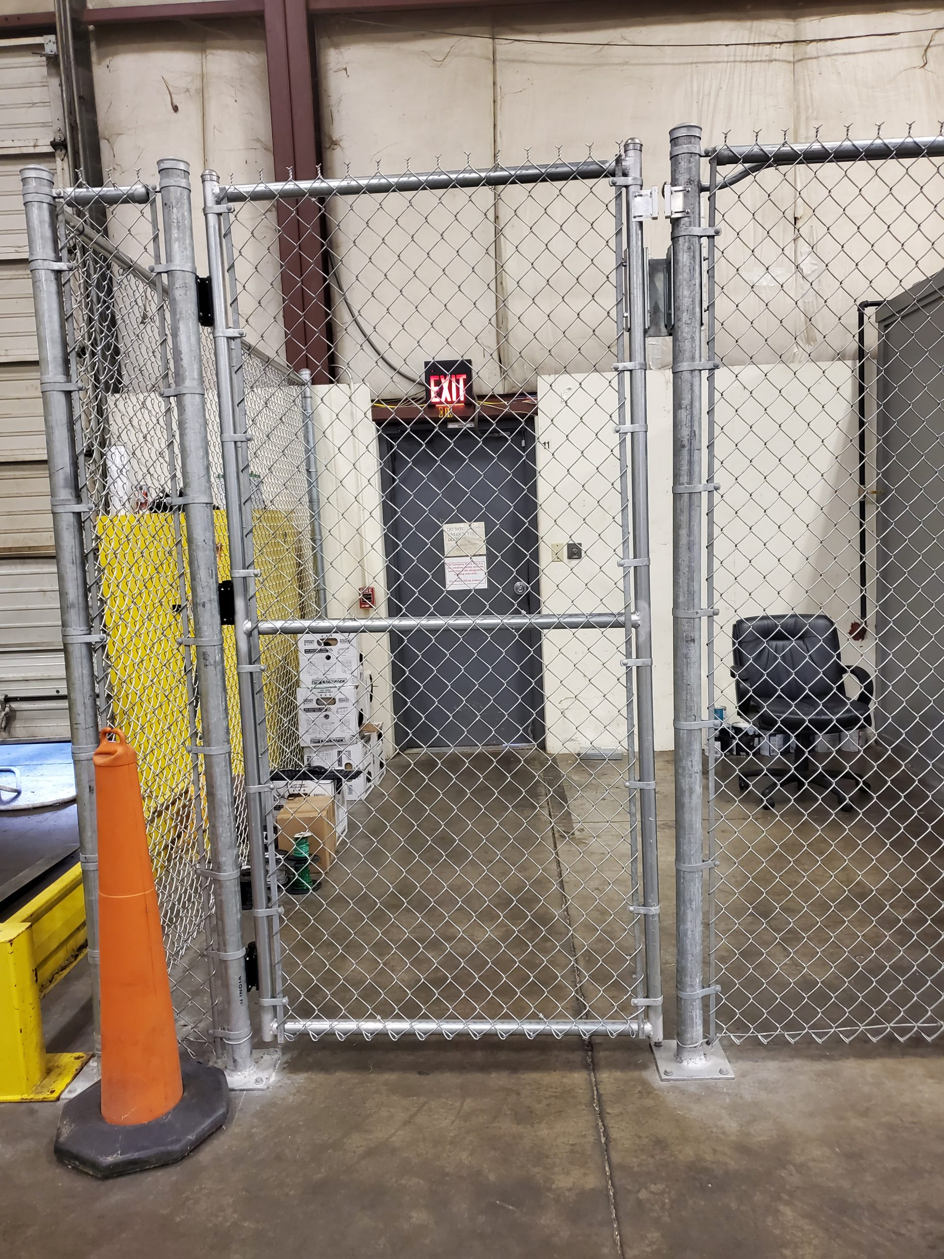 Truckers Security Cage