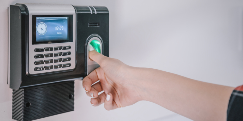 companies should consider biometric readers